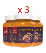 Vitanut beurre d'arachide ( 3 boites )