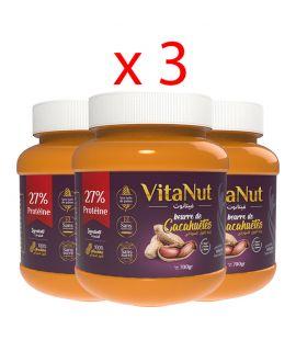 Vitanut - زبدة الفول السوداني ( 3 علب)