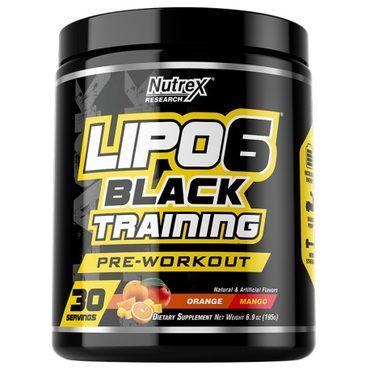 LIPO-6 BLACK TRAINING - Preworkout