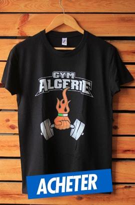 Nouveau Tshirt Gym Algérie